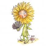 Sonnenblume Sonnenschein